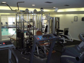 Summer House poolside fitness center
