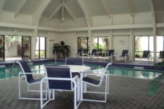Indoor pool at Summer House